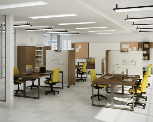 Groupe Lacasse Think Smart Multi-User Training and Computer Stations