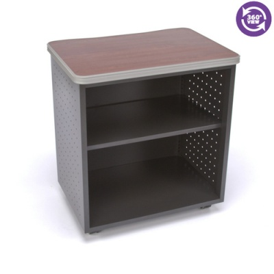 OFM File Pedestal Utility/Copy/Fax Table with Shelves 66745