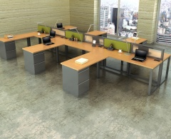 """RSI 6' x 6' 47"""" High Table Engage Benching System"""