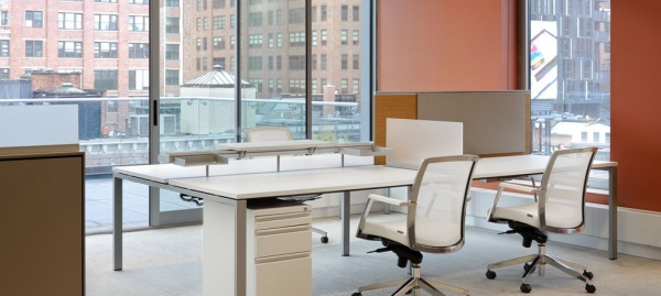 Inscape Solutions Benching Tisch Desking Application