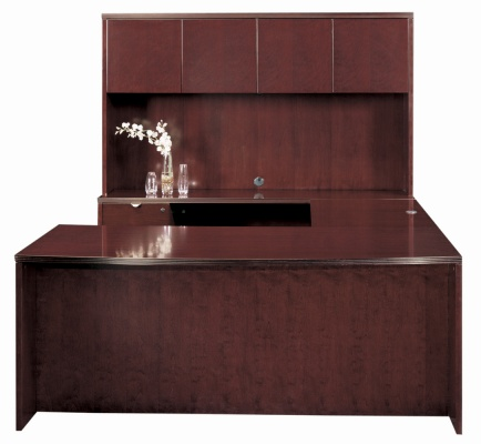 Cherryman Industries Jade Series U Shape Executive Desk Set JA-126N