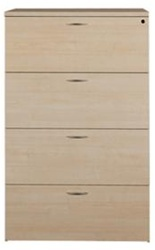 Cherryman Industries Amber Series Lateral 4 Drawer File Cabinet A927