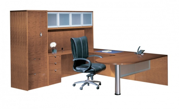 Cherryman Industries Jade Series U-shaped Executive Desk Set JA-156N