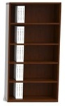 cherryman-industries-jade-series-5-shelf-bookcase-j829