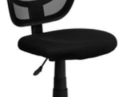 Techno Armless Mesh Computer Chair