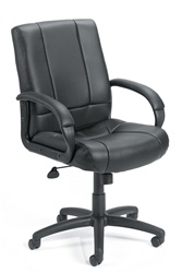 Boss Mid Back Executive Black Task Chair B7906
