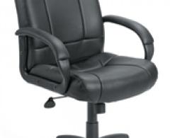 Boss Mid Back Executive Black Task Chair B7906