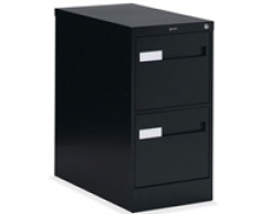 2600 Plus Series 2-Drawer Vertical Letter File by Global