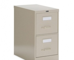 2500 Series 2-Drawer Veritcal Letter File by Global