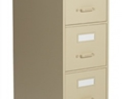 2500 Series 5-Drawer Vertical Letter File by Global
