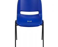 880lb Capacity Ergonomic Shell Stack Chair