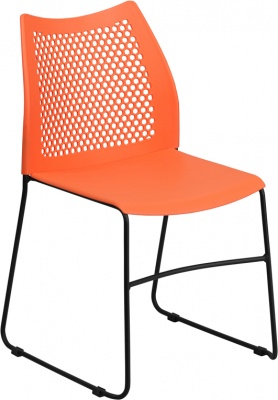 frida-661-lb-capacity-black-stack-chair-with-air-vent-back