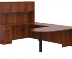 D-Top U-Desk with Hutch by Offices to Go
