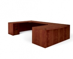 Bowfront U-Desk by Offices to Go