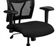 Big & Tall Black Mesh Office Chair - 400 LB Capacity