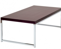 Wall Street Coffee Table with Espresso Top