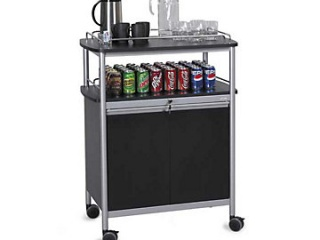 mobile-beverage-cart-with-open-storage-area