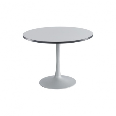 Cha-Cha Round Trumpet Base Bistro Table