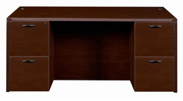 Amber Series Kneespace Credenza