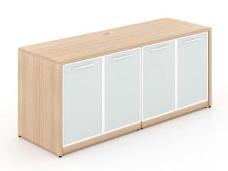 potenza-series-credenza-with-glass-doors