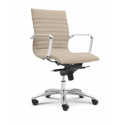 Zetti Mid Back Executive Leather Chair