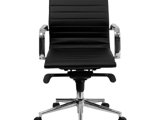 mid-back-ribbed-leather-executive-conference-chair