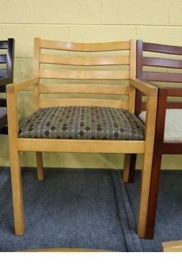 Bernhardt Chairs with Maple Frame