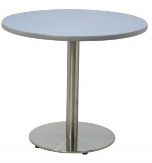 Stainless Steel Pedestal Cafe Tables
