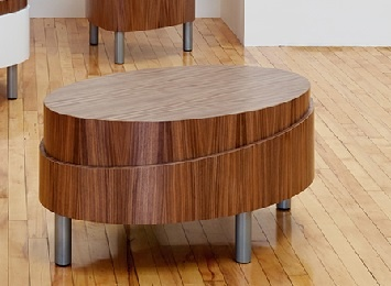 Soleil Oval Coffee Tables