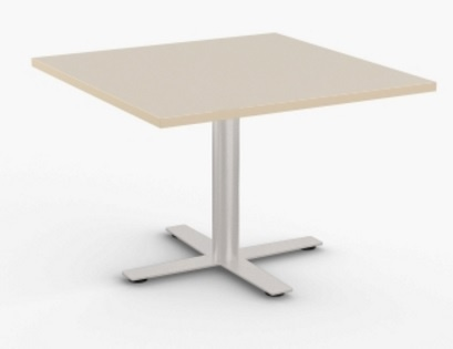 Sienna X Square Breakroom Tables