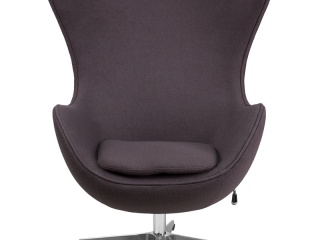 egg-chair-in-gray-wool
