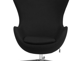 egg-chair-in-black-wool