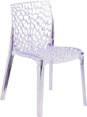 Vision Series Crystal Stacking Side Chair