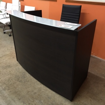 Potenza Curved Reception Desk