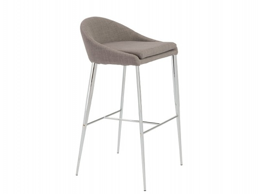 Brielle-B Barstool in Gray