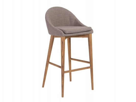 Baruch-B Barstool in Gray