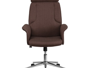 high-back-brown-fabric-executive-swivel-chair-with-chrome-base
