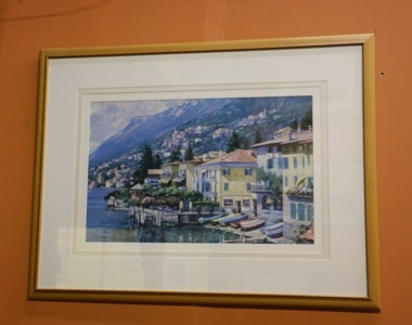 Framed Print - Homes on the Water