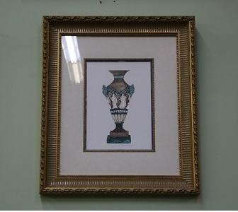 Classical Vase - Framed Print
