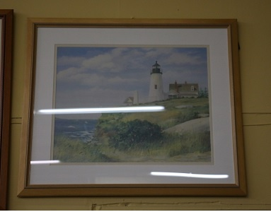Lighthouse - Framed Print