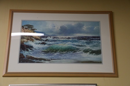 Waves - Framed Print