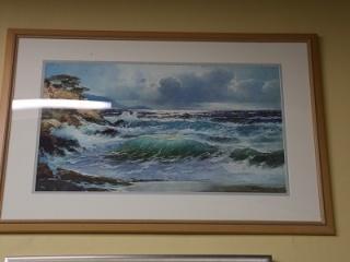 waves-framed-print