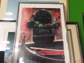 gondola-framed-poster