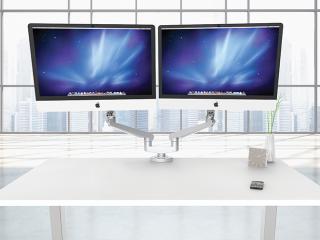 Edge2 Max Dual Adjustable Monitor Arm