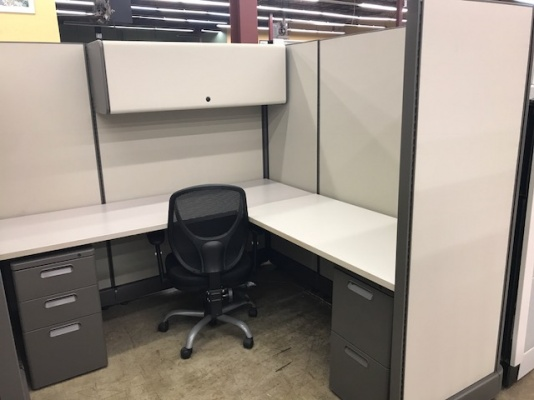 Refurbished Herman Miller AO2 Workstations