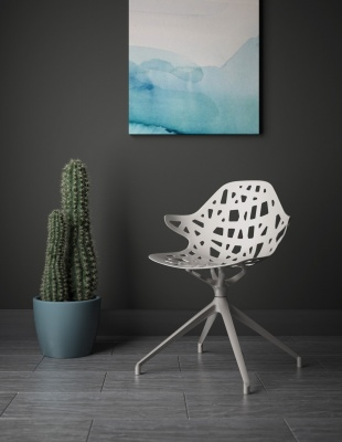 Lusso Side Chair by Kimball