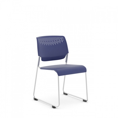Poly Side Chair by Kimball