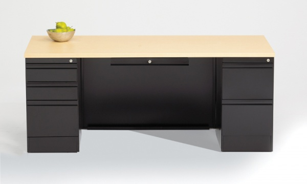 Apex Double Pedestal Metal Desks
