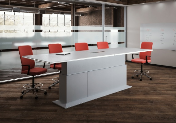 Lugano Height Adjustable Conference Tables