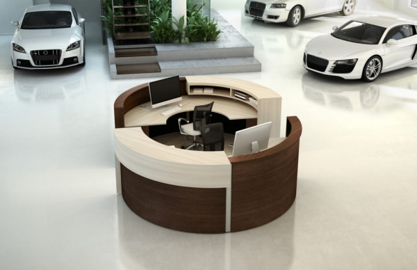 Spheric Collection Reception Desks
